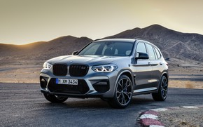 Picture machine, lights, BMW, crossover, Competition, X3M, F97