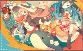 Picture Children, Kit, kids, Art, fuyuzuki gato