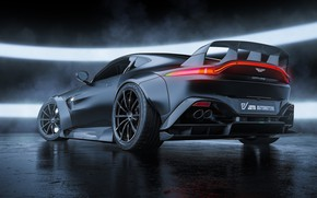 Picture Aston Martin, Auto, Vantage, Machine, Car, Aston Martin Vantage, Transport & Vehicles, Javier Oquendo, by …