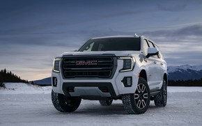 Picture GMC, SUV, Yukon, AT4, 2020, 2021, before