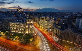 Picture night, Spain, Madrid