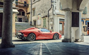 Picture Orange, Italy, Car, Supercar, Tourinng Arese RH95