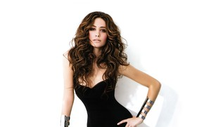Picture look, girl, photo, figure, dress, beauty, Emmy Rossum