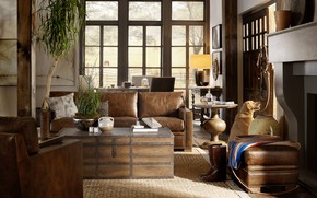 Picture interior, living room, ranch