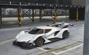 Wallpaper Machine, Supercar, Apollo, Rendering, Sports car, Vehicles, Transport, Transport & Vehicles, Zoki Nanco, by Zoki ...