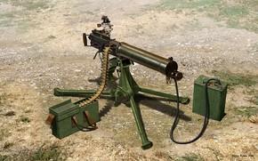 Picture UK, Machine gun, Vickers, Vickers, Machine gun