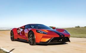 Picture speed, Ford, supercar, Ford GT, 2017, H063, Beryllium Orange