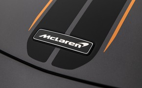 Picture McLaren, supercar, emblem, 2018, MSO, 600LT, Stealth Grey