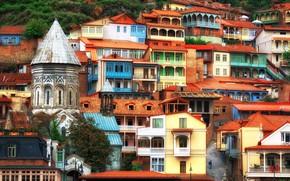 Picture home, slope, Georgia, Tbilisi