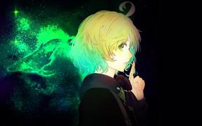 Picture look, night, black background, Pinocchio, Sinoalice
