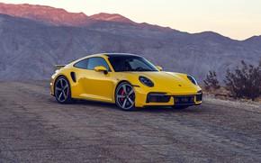 Picture mountains, 911, Porsche, Porsche, Turbo, 2021