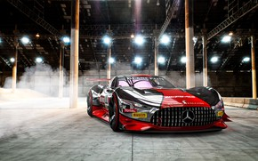 Picture Mercedes-Benz, Auto, Machine, Mercedes Benz, AMG, Rendering, Concept Art, The front, Sports car, Gran Turismo, ...