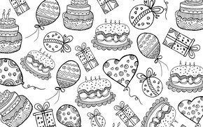 Picture pattern, cake, texture, background, Cake, background