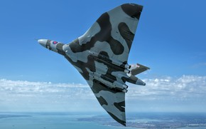 Picture The plane, Bomber, RAF, Royal air force, Avro Vulcan, Avro, Vulcan, V-bomber, Avro Vulcan B2