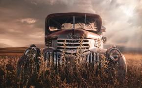 Picture retro, Chevrolet, old, car