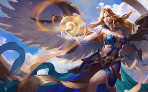 Picture girl, warrior, Arena of Valor, Lauriel