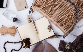 Picture style, Notepad, bag, accessories, Olena Rudo