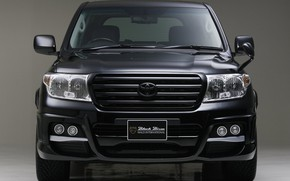 Picture Toyota, Front, Toyota Land Cruiser 200, Vehicle, Black Bison, Black Bison Edition, Land Cruiser 200