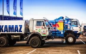 Picture Auto, Sport, Machine, Truck, Master, Last, Russia, New, 2018, Kamaz, Rally, Dakar, KAMAZ-master, Dakar, Rally, …