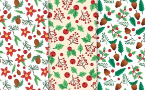 Picture white, background, texture, christmas, pattern, twigs, floral