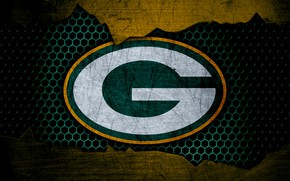 Picture wallpaper, sport, logo, NFL, american football, Green Bay Packers