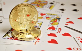 Picture poker, bitcoin, currency