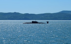 Picture submarine, Navy, the project 971, K-419