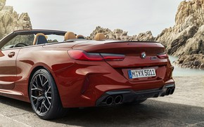 Picture BMW, convertible, the rear part, 2019, BMW M8, M8, F91, M8 Competition Convertible, M8 Convertible