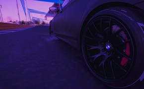 Picture night, bmw, BMW, drift, weather, the crew 2, m5 2011