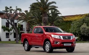 Picture red, Nissan, pickup, Navara, 2019, King Cab