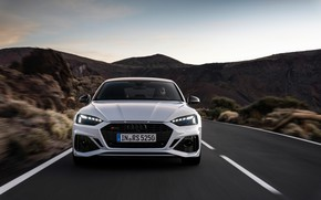 Picture road, Audi, front view, RS5, Sportback, RS 5, 2020
