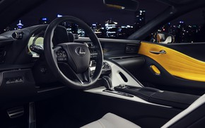 Picture Lexus, salon, LC 500, 2019, Inspiration Series