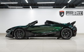 Picture McLaren, supercar, side view, Spider, Ball Wed, Fury, 2020, 720S