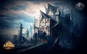 Picture bridge, castle, Perfect World