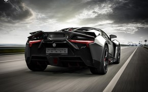 Picture Auto, Road, Black, Rendering, Supercar, Concept Art, Sports car, SuperSport, Transport & Vehicles, Benoit Fraylon, …