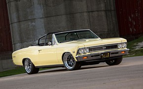 Picture Chevrolet, Chevelle, Convertible, Vehicle, Chevelle SS, SS, Pro Touring