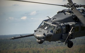 Picture Helicopter, USAF, Pilot, HH-60 Pave Hawk, Chassis, The blades, Cockpit