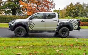 Picture side view, pickup, Isuzu, D-Max, 2019, UK version, XTR