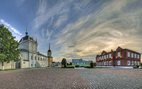 Picture The sky, The evening, Architecture, Kolomna, Cathedral square