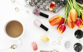 Picture style, glasses, cosmetics, Glamour, Makeup, Decoration, Cosmetics