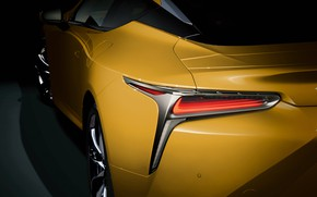 Picture Lexus, 2018, LC 500, Luster Yellow