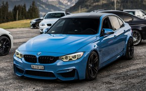 Picture Auto, Blue, BMW, Machine, Cars, BMW M3, The front, Transport & Vehicles, JAIPAL P, by …