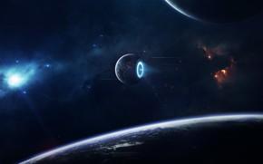 Picture Stars, Planet, Space, Nebula, Flight, Star, Light, Planet, Engine, Light, Planets, Star, Art, Stars, Space, …