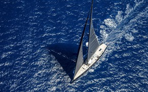Picture sea, the way, yacht, sails, BLACK SAIL, Yacht Wealth Club
