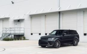 Picture Land Rover, Range Rover, Sport, Gray, Vossen, Urban Automotive