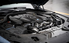 Picture coupe, BMW, 2018, under the hood, 8-Series, 2019, M850i xDrive, Eight, G15