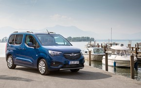 Picture photo, Blue, Opel, Car, Van, Combo Life, 2018-19