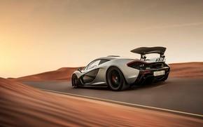 Picture McLaren, Desert, Hypercar, Dynamics, P1
