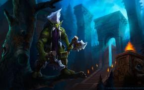 Picture WOW, Blizzard, Art, WarCraft, Troll, Mr--Jack, by Mr--Jack, World of WarCraft, Mr Jack, by Mr …