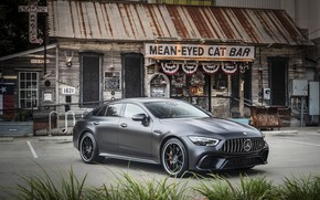 Wallpaper Mercedes - Benz, 2018, sports coupe, Mercedes - Benz, Mercedes-AMG GT 63S 4MATIC+4Door-Coupe, hyacinth red ...